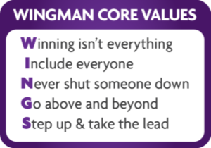 Wingman Core Values